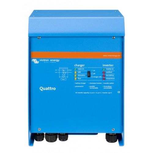 Victron Quattro 4000 Watt 220 Amp Combo