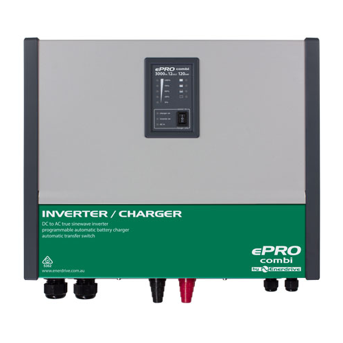 ePRO 2600 Watt 120 Amp 12V Inverter Charger Combi 2600W 120A