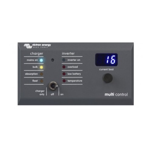 Victron Digital Multi Control Panel 200/200A GX (90Deg RJ45)