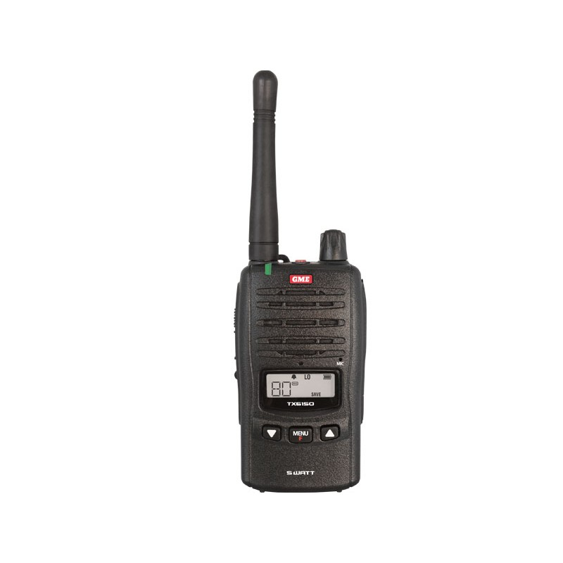GME TX6150 5 watt Handheld UHF Radio