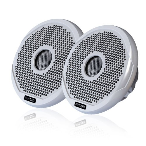 "Fusion 6"" 200 Watt 2-Way Marine Speaker Pair"