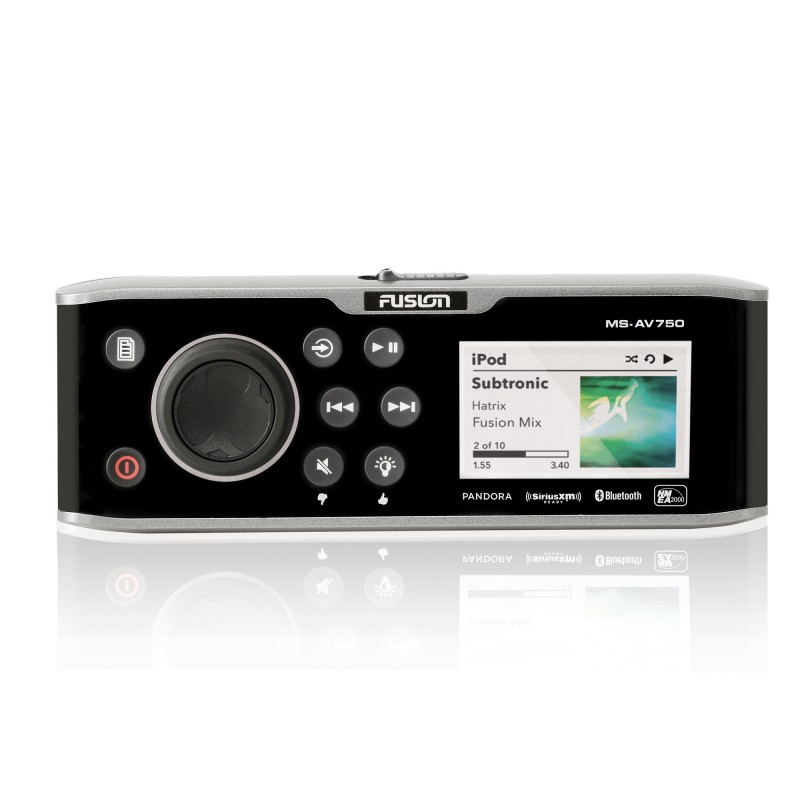 Fusion Marine Stereo for your Boat MS-AV750