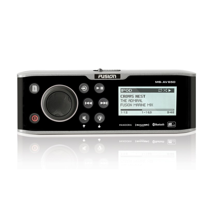 Fusion Marine Stereo for your Boat MS-AV650