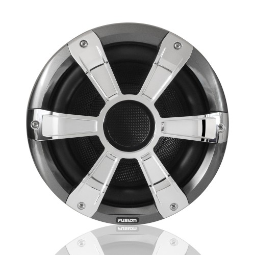 "Fusion SG-SL10SPC 10"" 450 Watt Sports Chrome Marine Subwoofer with LED's"