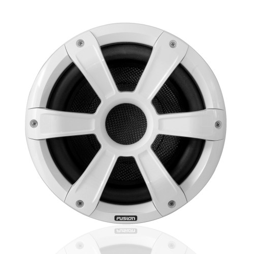 "Fusion SG-SL10SPW 10"" 450 Watt Sports White Marine Subwoofer with LED's"