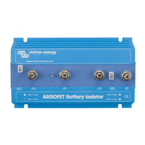 Victron FET Battery Isolator Argofet 200-3 200 Amp 3 Batteries