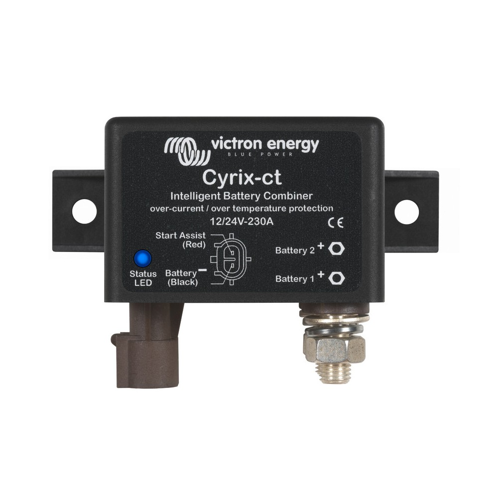 Victron Cyrix Ct 12 24v 230a Intelligent Battery Combiner
