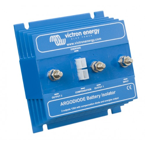 Victron Diode Battery Isolator Argodiode 80-2AC 2 Batteries 80A