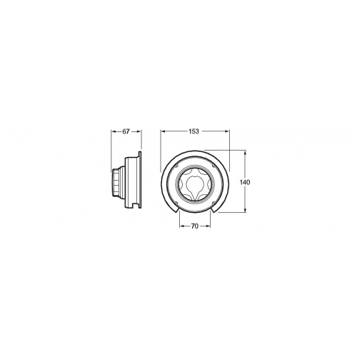 Hella 4 Position Manual Battery Switch - 4723
