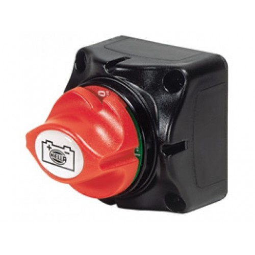 Hella 600 Amp Master Battery Switch with removable knob - 4640