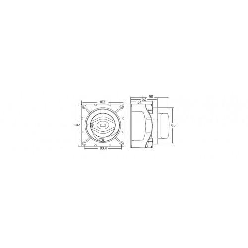 Hella 600 Amp Heavy Duty Battery Switch - 4720