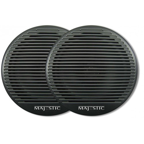 "Majestic Black SPK240 6"" Dual Cone Speaker Pair"