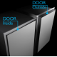 Example of door inside / door outside (for reference purposes only)
