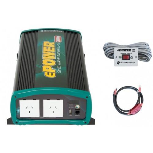 ePOWER 2000 Watt Pure Sine Wave Inverter