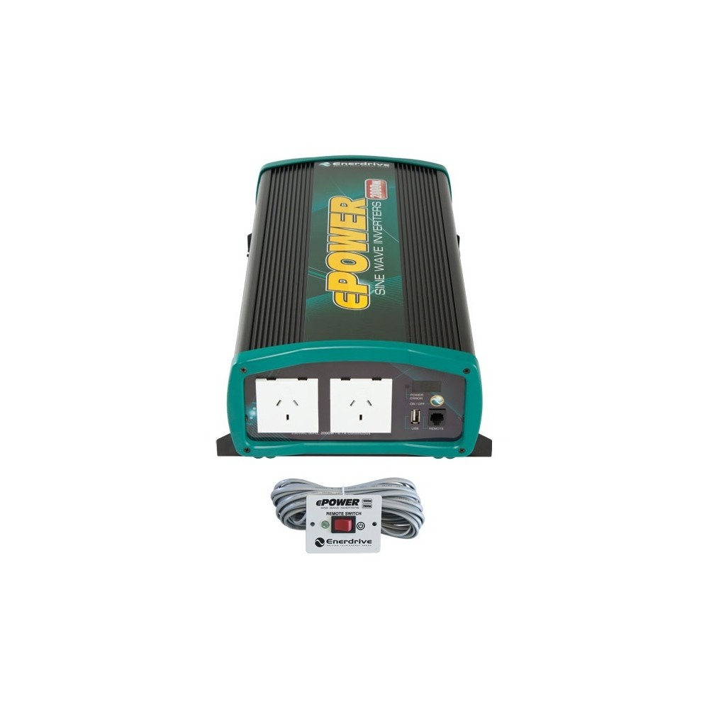 Inverters For Sale >> Epower 2000 Watt Pure Sine Wave Inverter With Usb On Sale Now