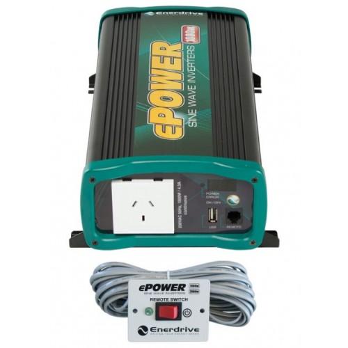 ePOWER 1000 Watt Pure Sine Wave Inverter