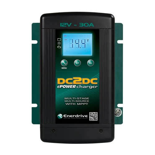ePOWER 30 Amp DC to DC Battery Charger with MPPT