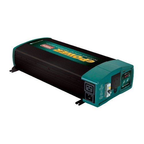 ePOWER 2000W 12V True Sine Wave Inverter with AC Transfer & Safety Switch