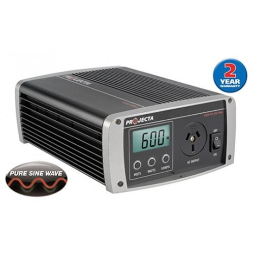 Projecta 12V 600 Watt Pure Sine Wave Inverter