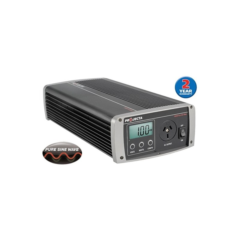 Projecta 12V 1000 Watt Pure Sine Wave Inverter