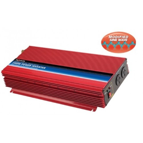 Projecta 12V 2000 Watt Modified Sine Wave Inverter