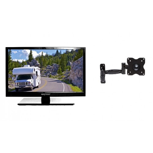 Majestic 12 Volt LED TV 18.5 with MMMI, USB & PVR