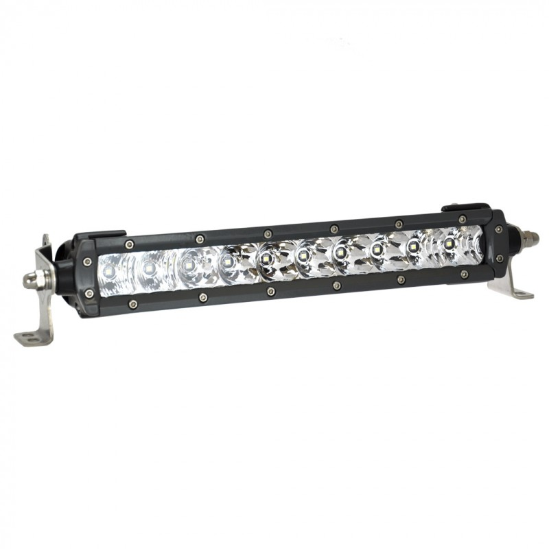 "Lightforce Single Row 10"" LED Bar - Flood"
