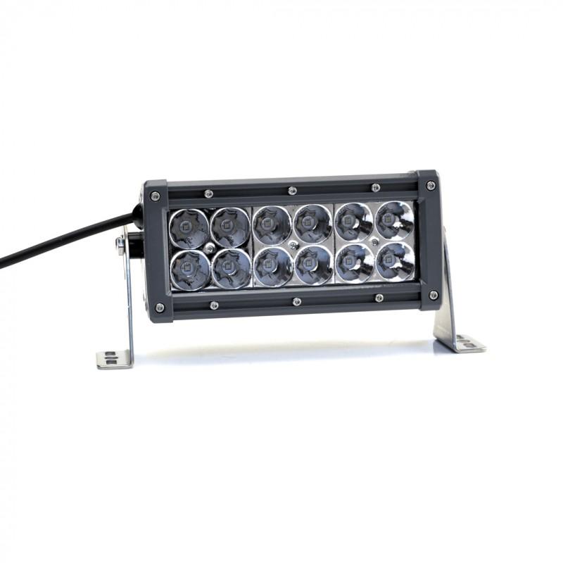 Lightforce 6 dual row led light bar 5w spot cbledbd6s aloadofball Gallery