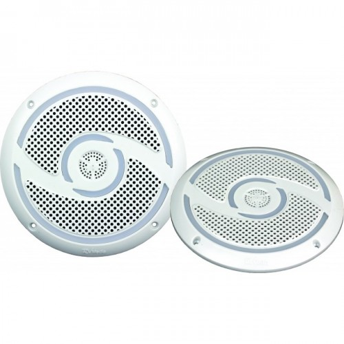RV Media 6 Inch Waterproof Outdoor Speaker Pair