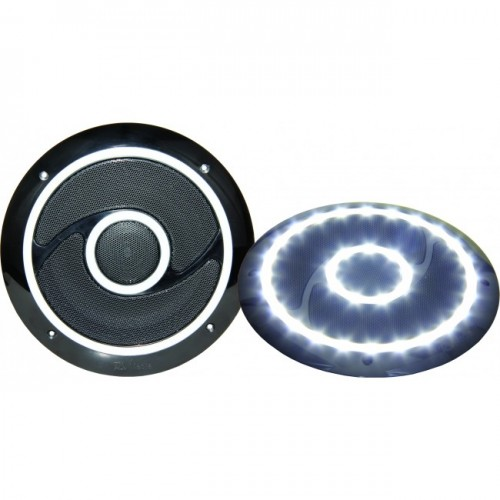 RV Media 6 Inch LED Indoor Speaker Pair