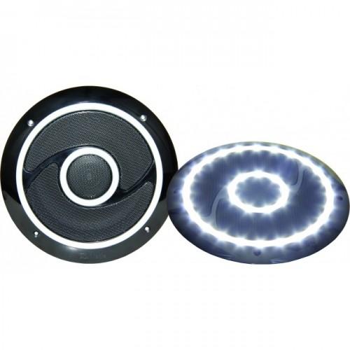 RV Media 6 Inch LED Indoor Speaker Pair