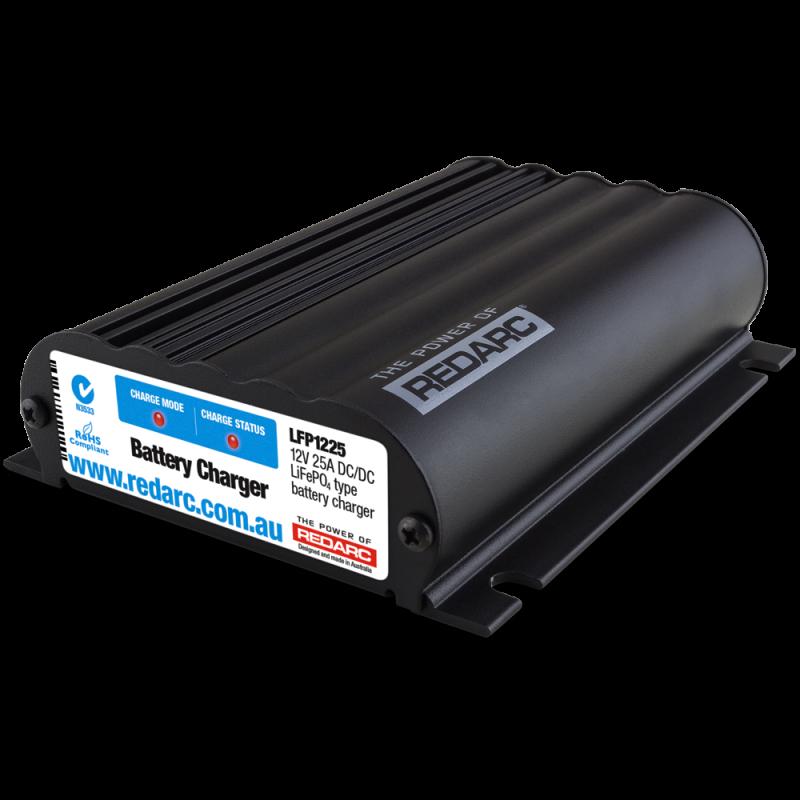 REDARC 12V 25 Amp DC to DC Battery Charger LiFePo4 LFP1225