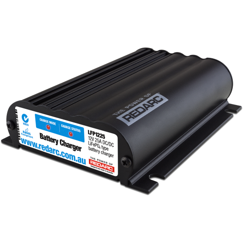 REDARC 12V 25 Amp DC to DC Battery Charger LiFePo4 LFP1225-LV