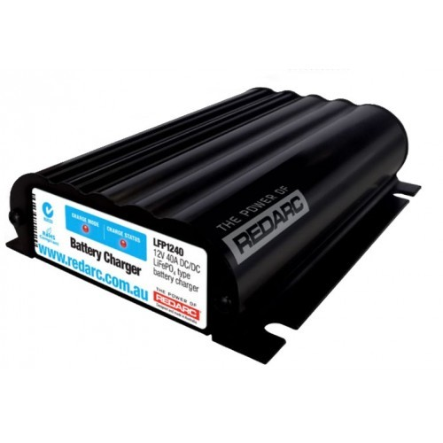 REDARC 12V 40 Amp DC to DC Battery Charger LiFePo4 LFP1240-LV