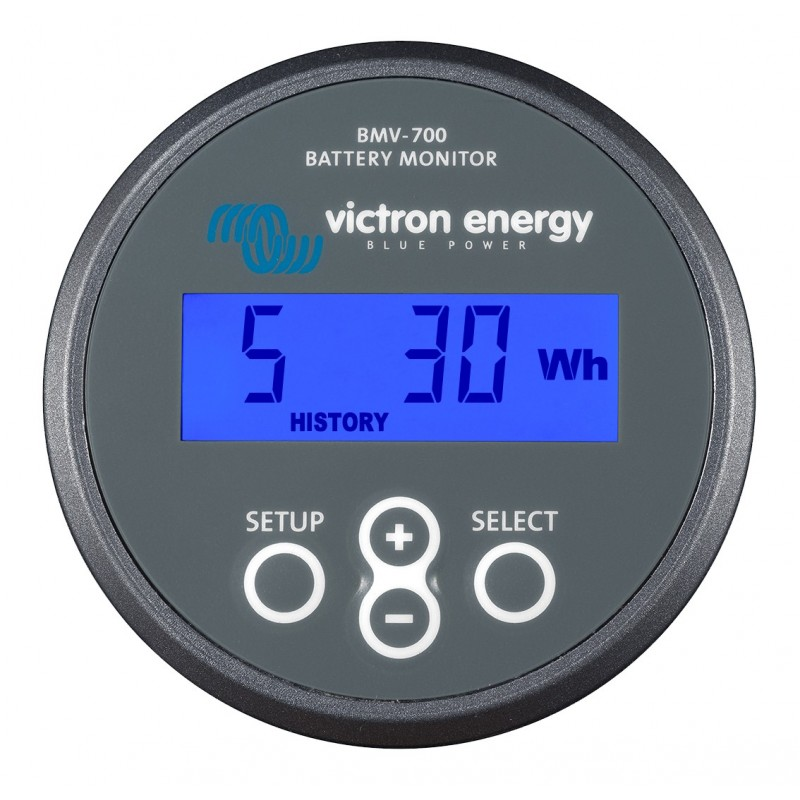 Victron Battery Monitor - Grey Face