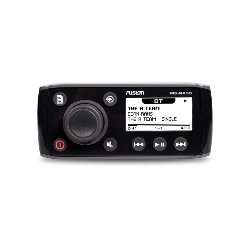 Fusion Marine Boat Stereo Ms Ra55 With Bluetooth 12 Volt