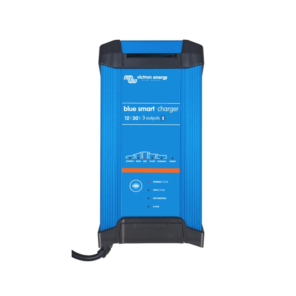 Victron 30 Amp 12v Battery Charger Blue Smart 3 Bank For