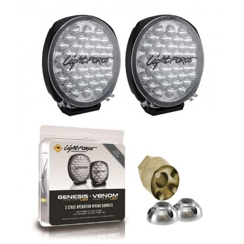 Lightforce DL210 Genesis LED 12/24V Driving Light Kit