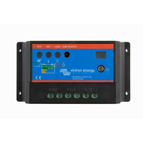 Victron Blue Solar PWM Light 12/24V 10 Amp Solar Charge Controller Regulator