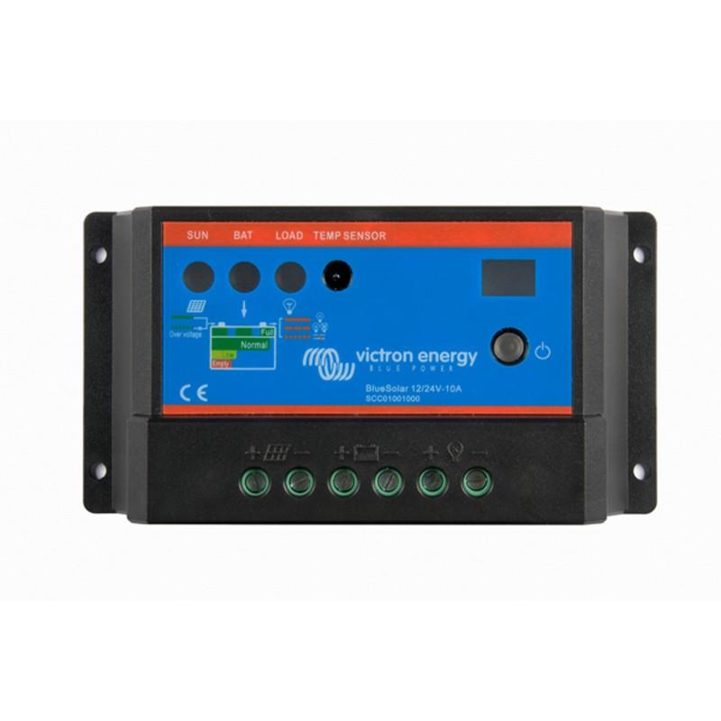 Victron Blue Solar PWM Light 12/24V 10 Amp Solar Charge Controller Regulator