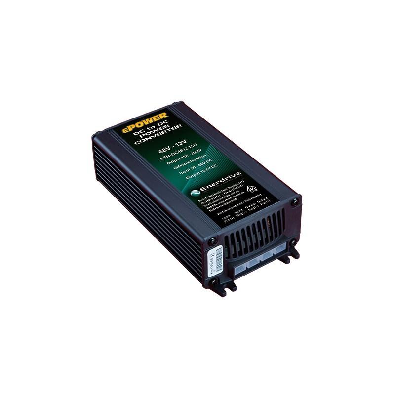 ePOWER 48V - 12V 15A DC to DC Converter w Galvanic Isolation