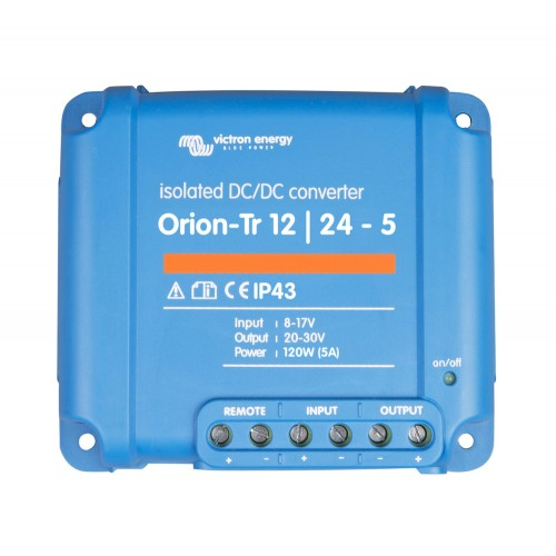 Victron Orion-Tr 12V - 24V 5A DC to DC Isolated Converter