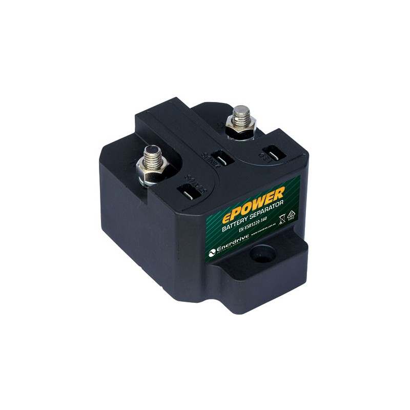 Enerdrive ePower 12/24V-160A VSR Battery Separator