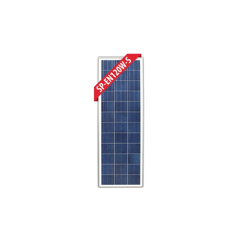Enerdrive 120 Watt Slim Fixed Solar Panel