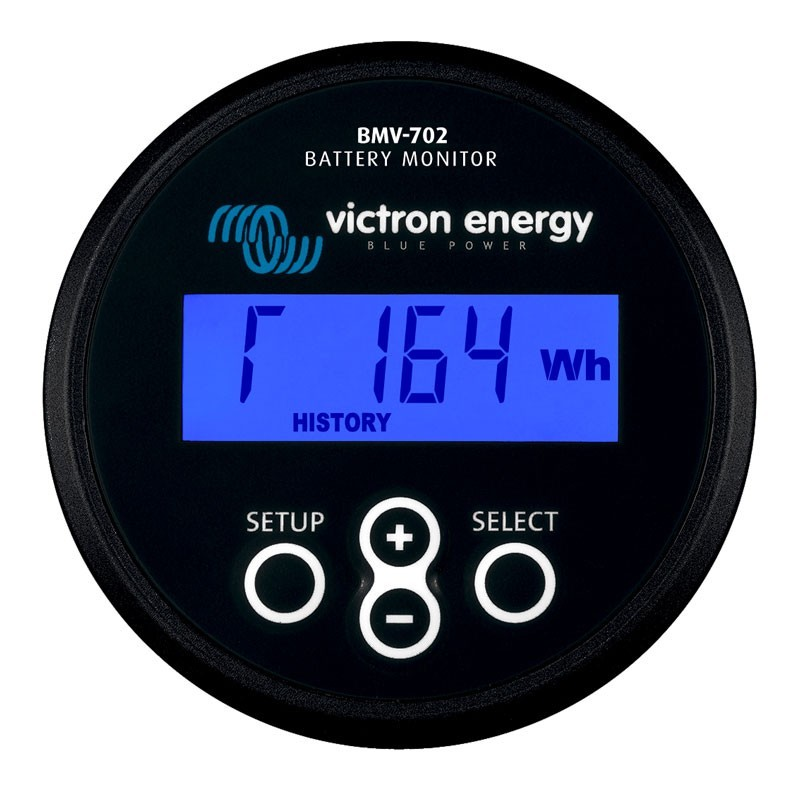 Marine Battery Charger And Monitor : Victron bmv dual battery monitor for your wd caravan