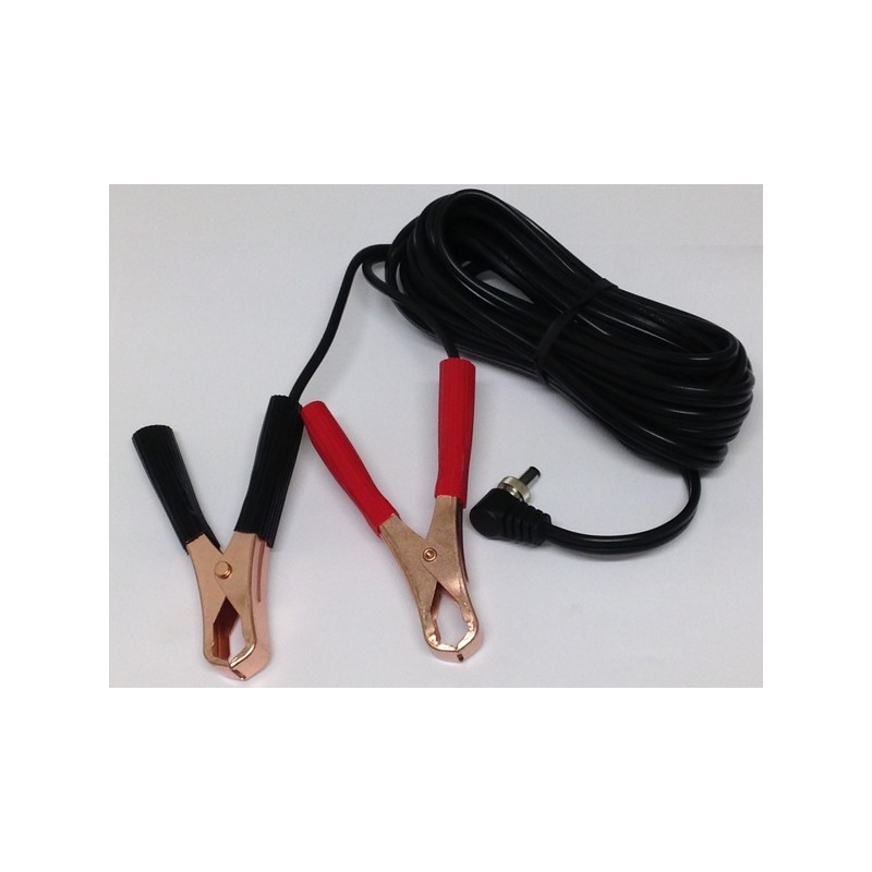 Lightforce EFAL Figure 8 Cord Kit with Alligator Clips