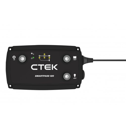 CTEK SmartPass 120A on Board Power Management System
