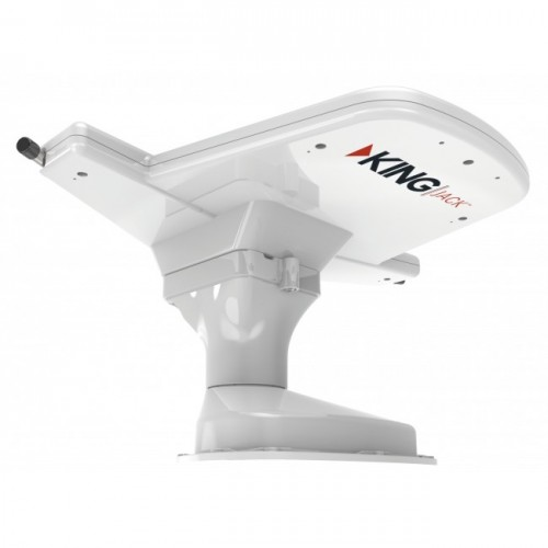 Jack Antenna Roof Mounted Built In Signal Meter A/M - King Jack