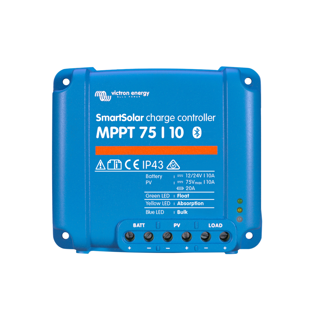 Victron Smart Solar Mppt 75 10 10 Amp Bluetooth Controller