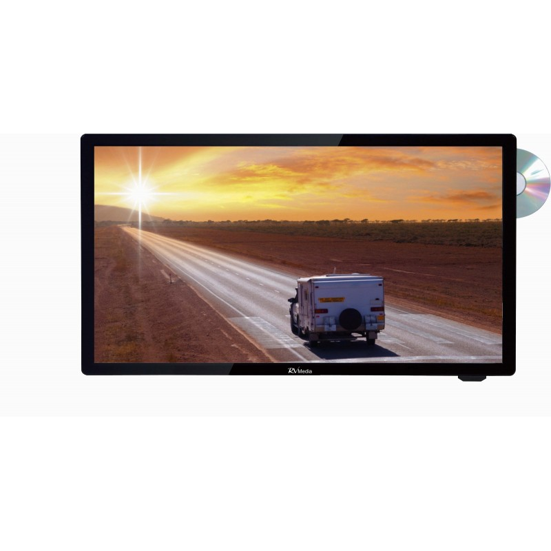 RV Media Evolution 19 Inch 12V LED TV/DVD